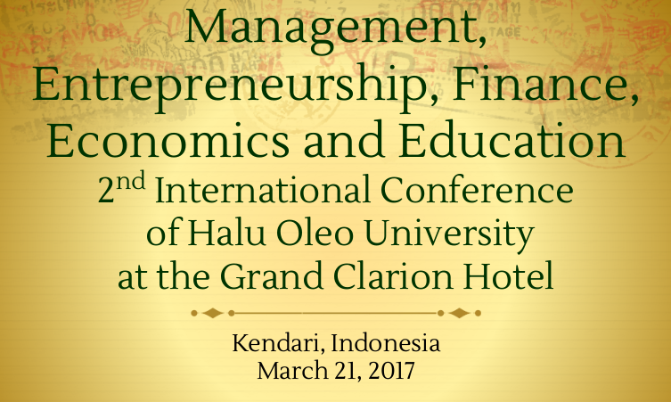 Management Entrepreneurship Halu Oleo Univercity Indonesia
